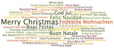Frohe Weihnachten Und Ein Glückliches Neues Jahr In Allen Sprachen.Frohe Weihnachten Sprachen International
